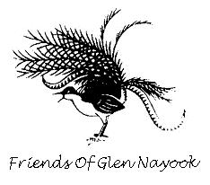 Logo Friend of Glen Nayook with border